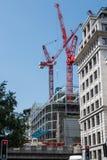 London - New building under construction. LONDON, UK, 06 JUNE 2016: New building office under construction in London City area Stock Image