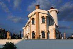 New buildings, the areal Crystal Rocks, Salamis, Northern Cypru Stock Photos