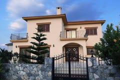 New buildings, the areal Crystal Rocks, Salamis, Northern Cypru Royalty Free Stock Image