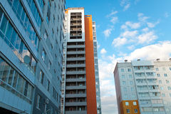 New buildings. Image new buildings. Chelyabinsk-Russia stock photo
