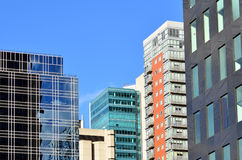 New Buildings in Melbourne Royalty Free Stock Images