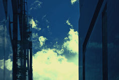 New buildings modern business center Royalty Free Stock Photos