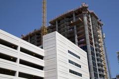 New  buildings under development Stock Photo
