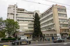 New Burgas post office in Bulgaria Stock Images