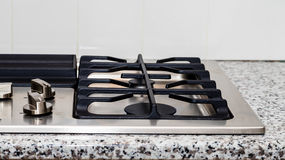 New Burner on Granite Counter Royalty Free Stock Photography