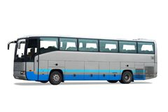 New bus royalty free stock photography