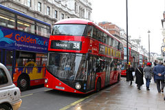 New Bus for London Stock Image