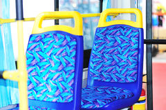 New bus seats Stock Image