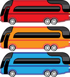 New Bus vector Royalty Free Stock Photography