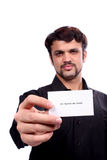 New Business Card Stock Photography