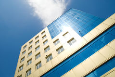 New business center on the background of blue sky Royalty Free Stock Image