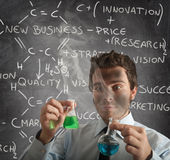 New business formula Stock Photo