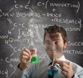New business formula Stock Photo