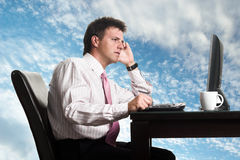 New Business Horizon Stock Images