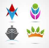 New business icon and symbol Royalty Free Stock Image