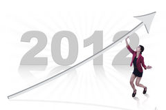 New business year 2012 Royalty Free Stock Photos