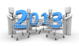 New business year Stock Images