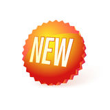 New button Stock Photography