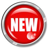 NEW Button Royalty Free Stock Image
