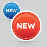 New button vector Royalty Free Stock Photo