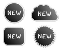 New buttons Stock Image