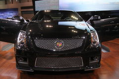 New Cadillac CTS-V coupe. Cadillac exposition at Chicago auto show 2011 Stock Images
