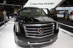 New Cadillac Escalade 2015 Royalty Free Stock Image