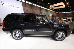New Cadillac Escalade HYBRID Royalty Free Stock Photo