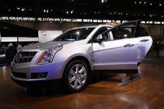 New Cadillac SRX. Chicago auto show February 2011 Stock Photo