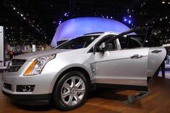 New Cadillac SRX. Chicago auto show February 2011 Stock Photos