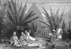 New Caledonian Natives Royalty Free Stock Photo