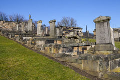 New Calton Burial Ground in Edinburgh Royalty Free Stock Photography
