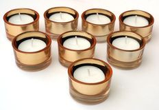 New Candle Set Royalty Free Stock Photos