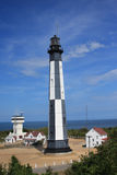 New Cape Henry Lighthouse. Located in Fort Story, Virginia Stock Photos