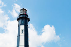 New Cape Henry Lighthouse, Made From Cast-Iron Plates Stock Photo