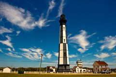 NEW CAPE HENRY LIGHTHOUSE IN VIRGINIA Stock Photos