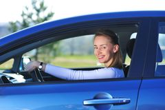 New car Royalty Free Stock Photography