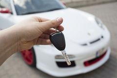 New car acquisition Royalty Free Stock Images