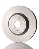 New car brake disk isolated on white background. Stock Photos