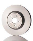 New car brake disk isolated on white background. Stock Photos