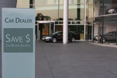 New car dealership stock photos