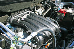 New car engine Royalty Free Stock Photo
