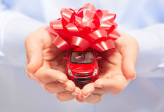 New car gift. Stock Images