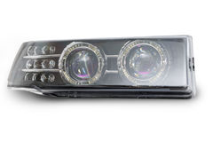 New car headlights Royalty Free Stock Image