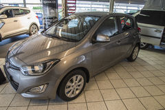 New car, hyundai i20 automatic Stock Photography