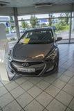 New car, hyundai i30 1,6 120hp Royalty Free Stock Photo