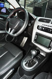 New car interior Royalty Free Stock Photos