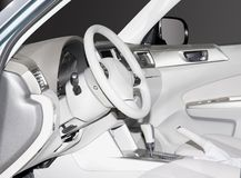 New Car Interior Royalty Free Stock Images