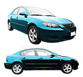New Car Isolated Royalty Free Stock Image