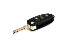 New car key Royalty Free Stock Image
